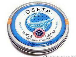 Natural black caviar of Siberian sturgeon - фото 2
