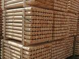 Cylindrical pine stakes (pegging) for gardering - фото 4