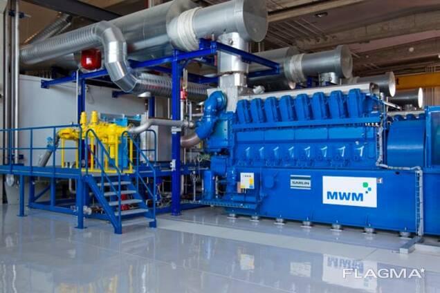 Б/У газопоршневой двигатель MWM TCG 2032 V 16, 4300 Квт Цена