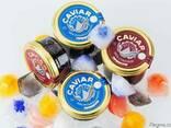 Natural black caviar of Russian sturgeon - photo 3