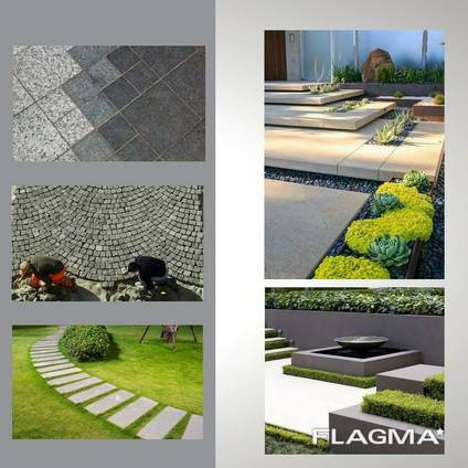 Granite stone tiles / pavers