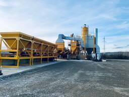 Mobile asphalt plant Parker RoadStar 2000 (160 tph, United Kingdom)