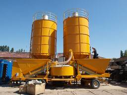 Мобильный бетонный завод SUMAB М-2200 (50-80 м3/час) Швеция