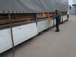 Oak planks not edged, dry - 8%, 50mm 3m 0-1 grade - фото 6